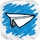 Sketch Plane - Endless Tapper Game icon
