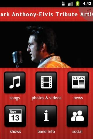 Mark Anthony-Elvis Tribute Art - screenshot