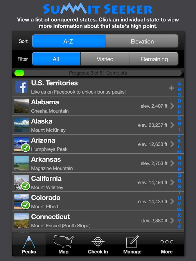 Summit Seeker - screenshot