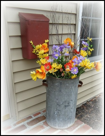 Front porch flowers