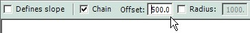 option bar