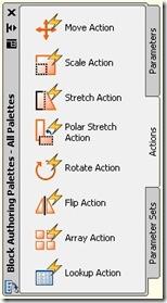 block authoring palette