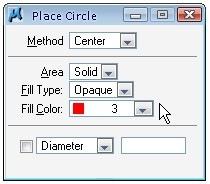 circle options