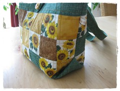 Corner of Sunflower Purse