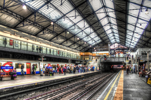EARL'S COURT, Underground of London by Charles Ong - Travel Locations Subway