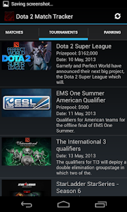 Dota 2 Match Tracker - screenshot thumbnail