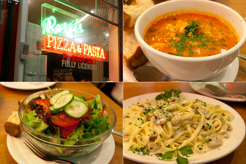 Rossi's pizza and pasta