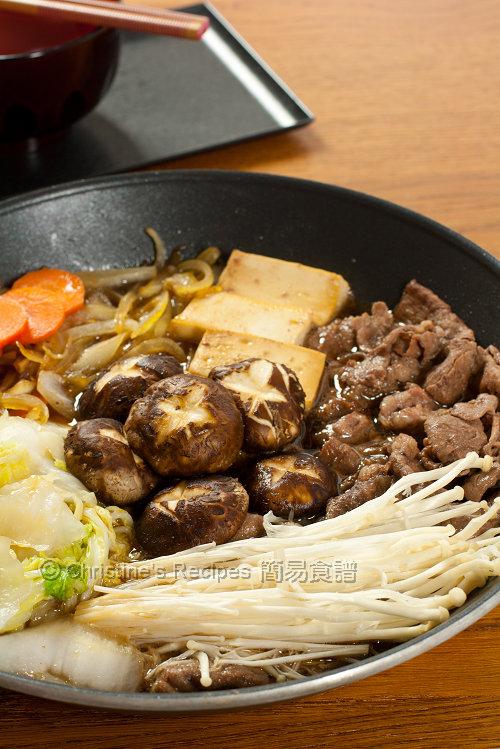 日式火鍋 Sukiyaki01