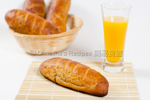 提子核桃麵包 Raisin Walnut Bread03