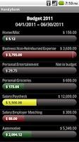 Screenshot of HandyBank