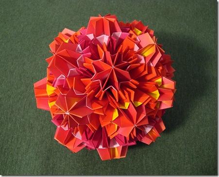 Advanced Modular Origami Flowers Kusudama Cher Cabulas Mindbox