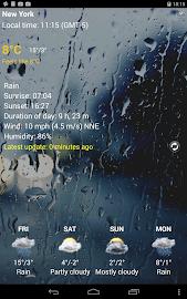 Transparent clock & weather Screenshot 24