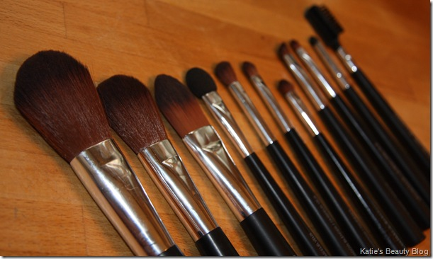 The Body Shop Makeup Brushes Katie Snooks