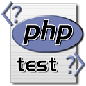 PHP test icon