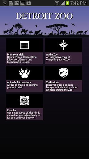 Official Detroit Zoo App