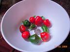 20.5 weeks : last pepper harvest