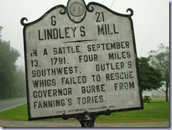Battle of Lindley's Mill