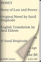 Screenshot of English Novel Book - Honey