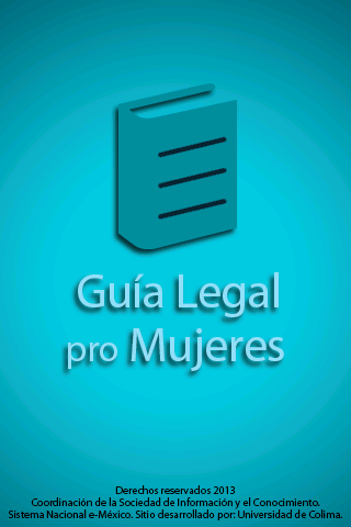 Guía legal pro mujeres- screenshot