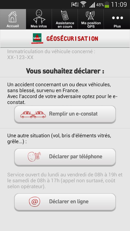 Géosécurisation - screenshot