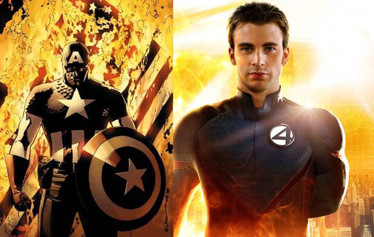 Chris Evans será el Capitán América