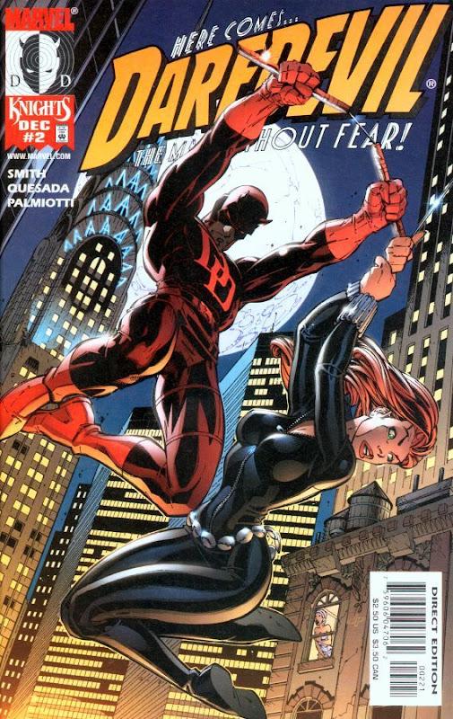 Portada de Daredevil de J.Scott Campbell