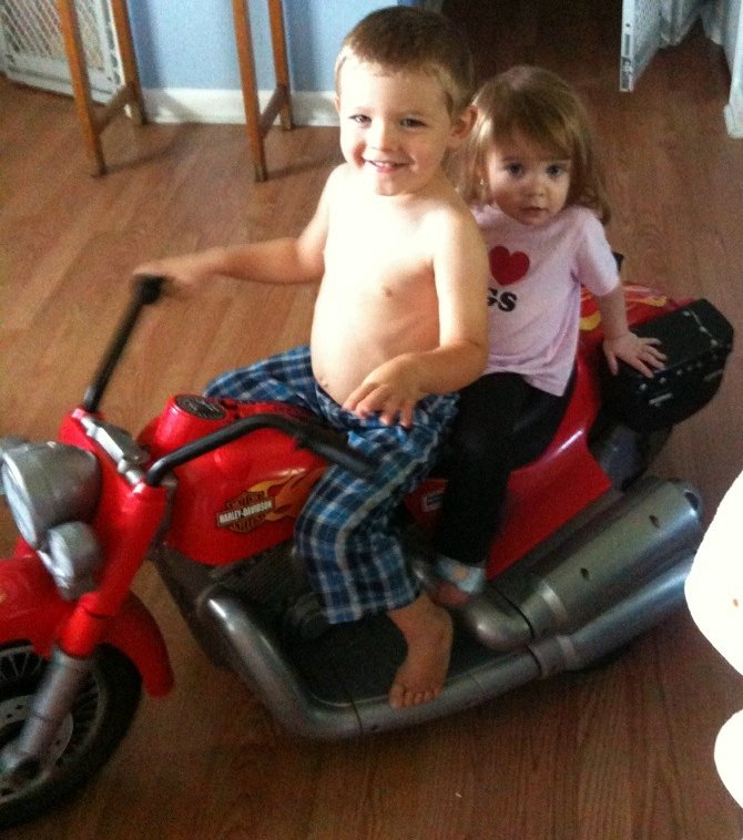 Modified Power Wheels - chozian's 12V PW Red Harley-Davidson ... on
