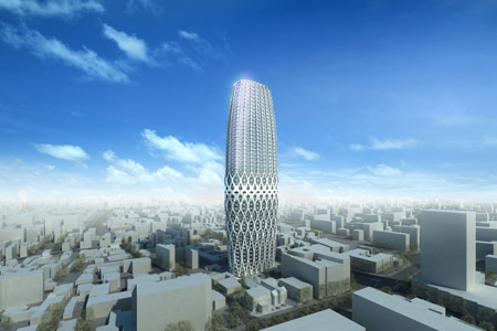 New tower from Zaha Hadid
