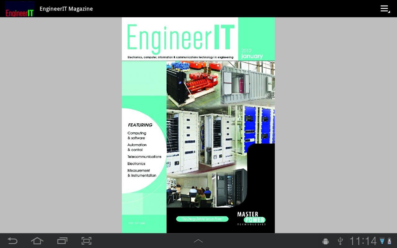 EngineerIT Magazine- screenshot