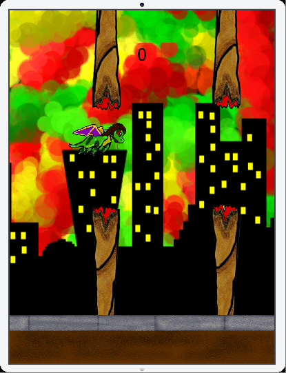 Puffy Dragon - screenshot