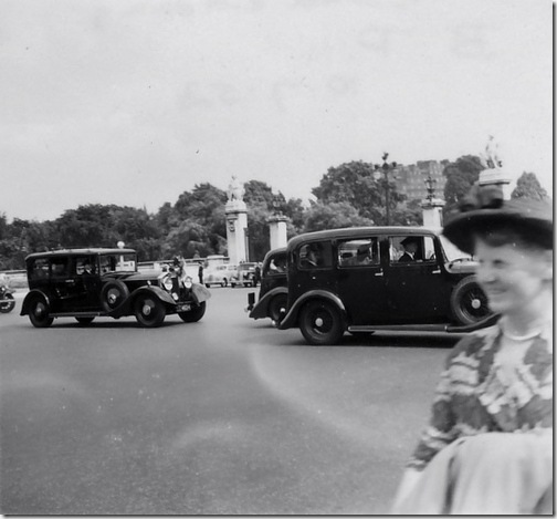 Drummond's arrival at Buckingham Palace, 10 Jul 52