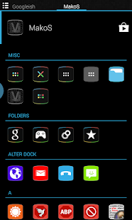 MakoS Apex Nova Theme - screenshot thumbnail