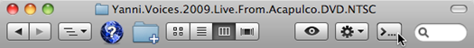 Mac OS cdto App Icon in Finder Toolbar