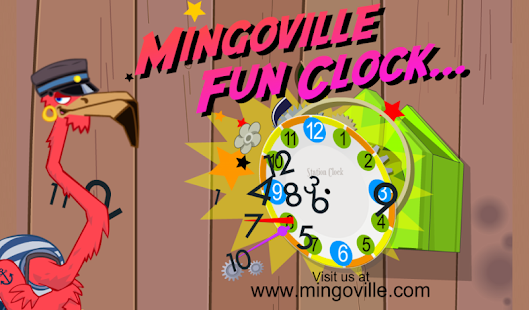 Learn to tell time - Fun Clock- screenshot thumbnail