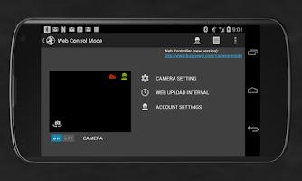 Screenshot of Camera Remote