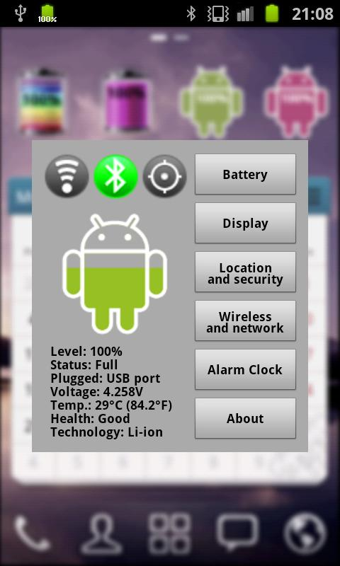 Android Battery - screenshot