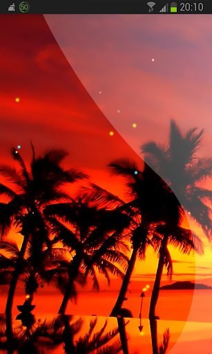 Tropical Beach Live Wallpaper