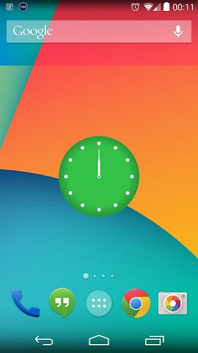 TimeField Clock Widget