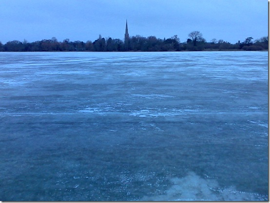 Frozen Hemingford Meadow 10th Jan 2010