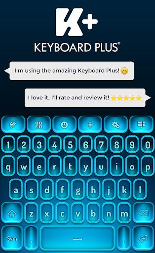 键盘蓝色HD