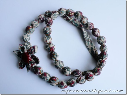 Fabric Necklace 1b
