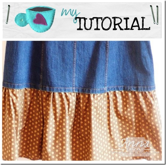 Tutorial gonna jeans