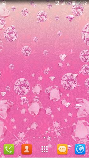 免費娛樂App|粉红钻石动态壁纸|阿達玩APP
