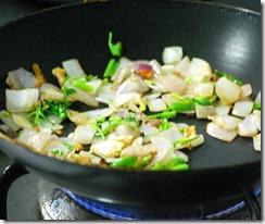 Fry onion