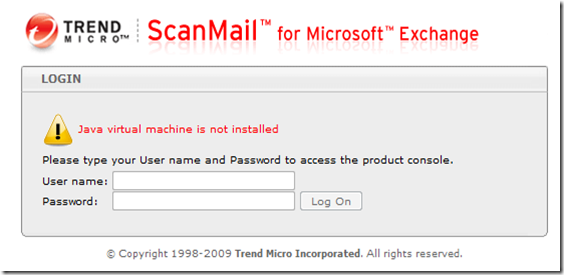 My Knowledge Base - IT: ScanMail for Microsoft Exchange