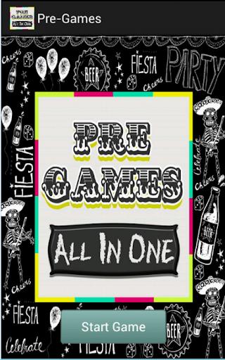 Pre-Games