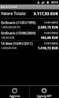 Screenshot of Buoni Postali