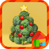 Vegetable tree dodol theme
