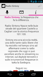 Radio Sintony- screenshot thumbnail