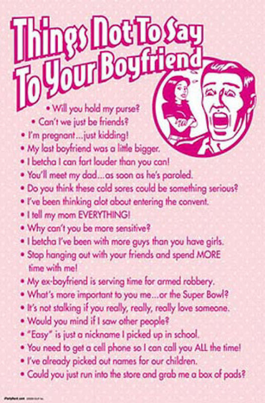 Things to say to turn your girlfriend on